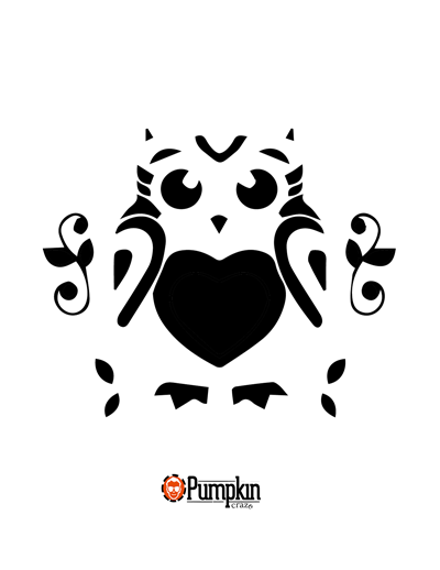 Easy Owl | Scary, Owl pumpkin and Owl pumpkin stencil