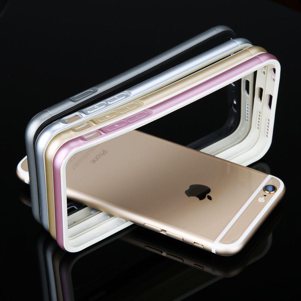 Neueste ultradünne weichen tpu handy schutzfolie bumper für iphone 6 6s/6 plus/6s plus mit doppel-farben design heißer verkauf