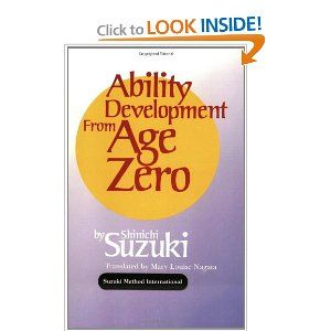 Ability Development from Age Zero (Suzuki Method