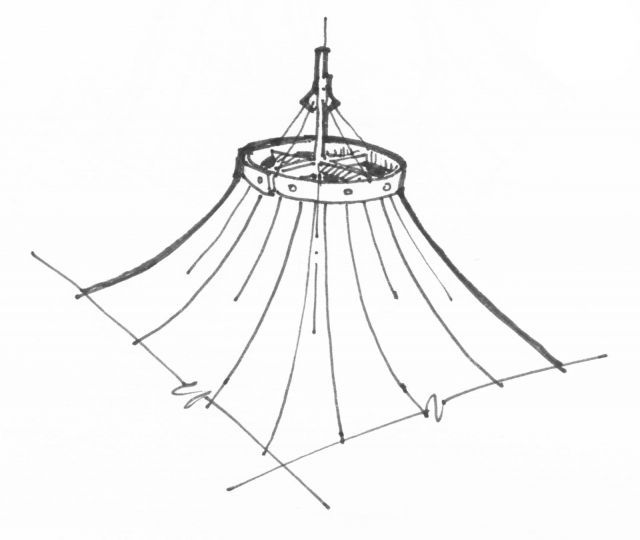 Tensile Structures Drawing Google Search Surat Shed