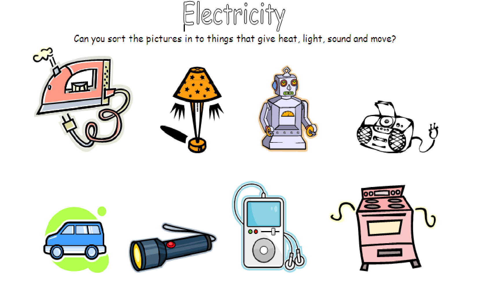 Ks2 And 3 Energy Circuits Electricity Energy