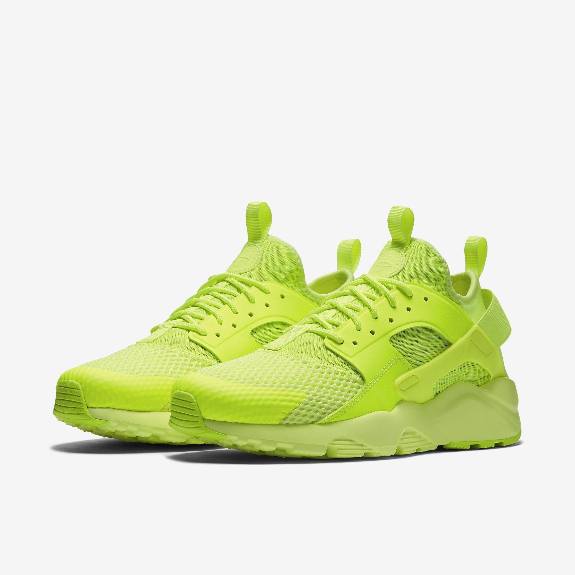 low priced e7e0a 5d6f7 Nike Air Huarache Ultra Breathe - Volt | huaraches in 2019 ...