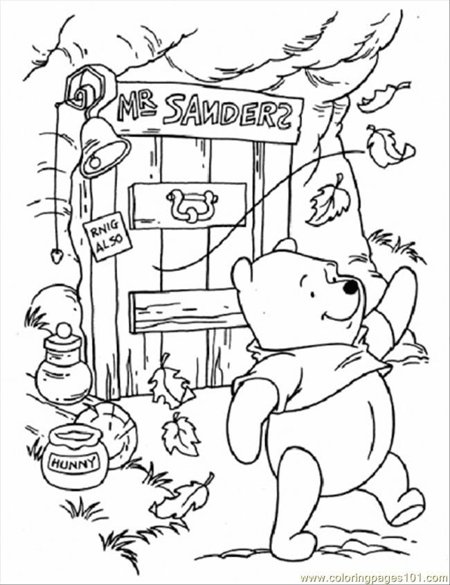 Free Coloring Autumn Day Free Printable Coloring Page Pooh In Windy Day Cartoons Winnie T Fall Coloring Pages Disney Coloring Pages Cartoon Coloring Pages