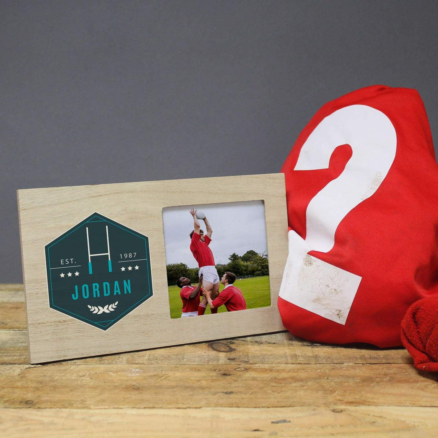 Personalised Rugby Photo Frame Unique Wedding Anniversary Gifts Traditional Anniversary Gifts Best Gifts For Him