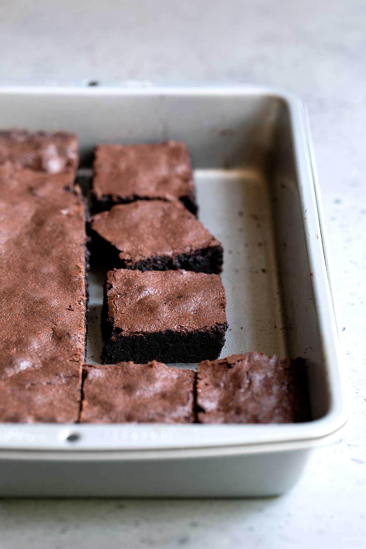 Perfect Chewy Homemade Brownies Recipe Homemade Brownies Food