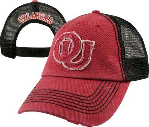 96376a393e3 Oklahoma Sooners Hat   47 Brand Vintage Omega Adjustable Hat by  47 Brand.