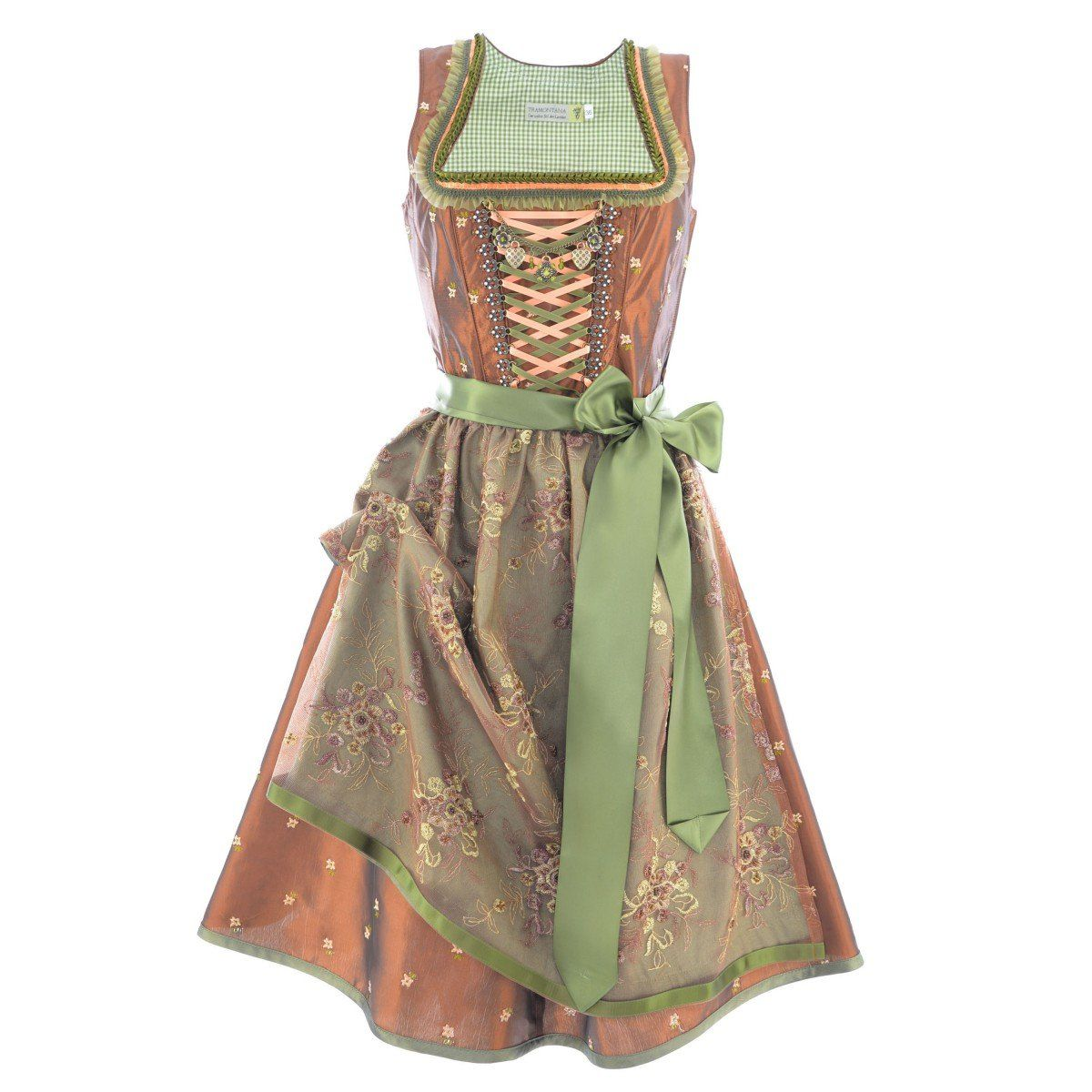 Midi Dirndl Walla in bronze by Tramontana, size: 32; color: Bronze: Amazon.de: Clothing