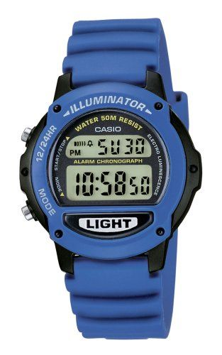 Armbanduhr kinder digital  Casio Collection Kinder-Armbanduhr Digital Quarz LW-22H-2AVES ...