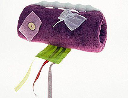 Hapti Muff brombeer - Geschenk für Demenzkranke und Alzheimer-Patienten - Beschäftigung und Aktivierung