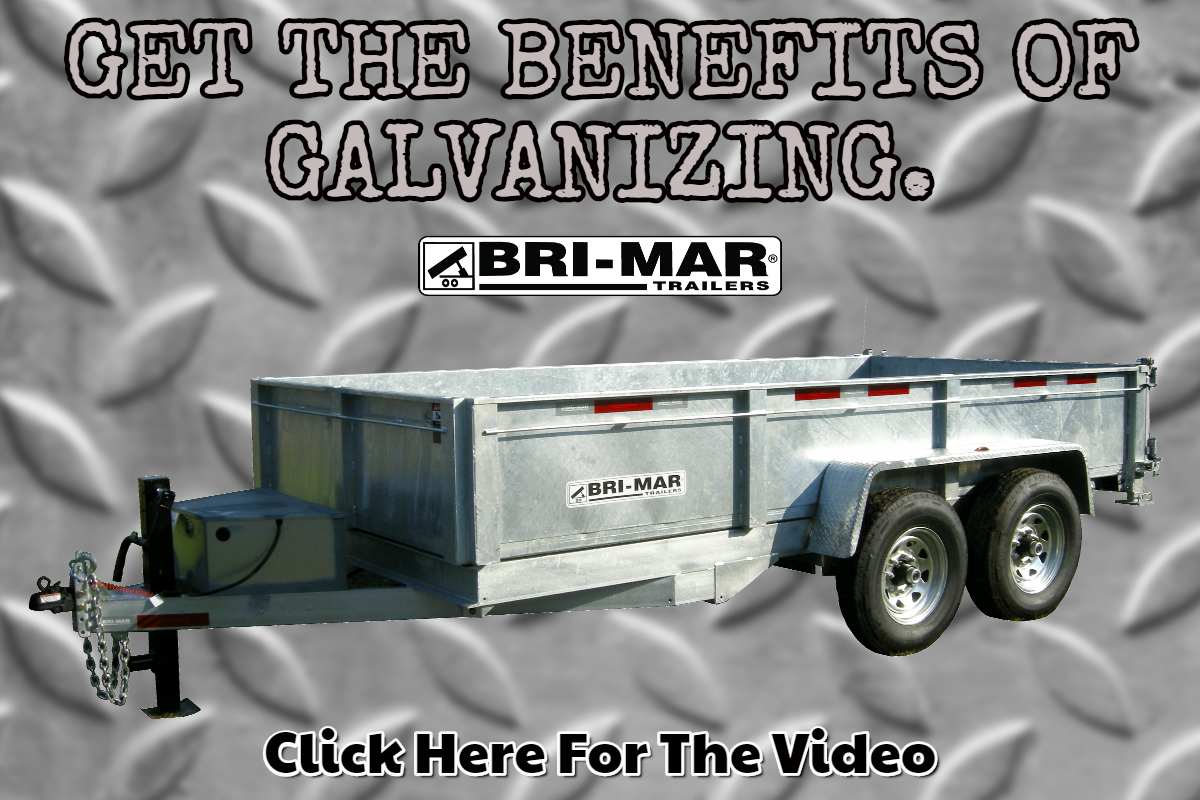 Get The Long Lasting Benefits Of Galvanizing For Your Bri Mar Trailer Trailer Instructional Video Graphic Card