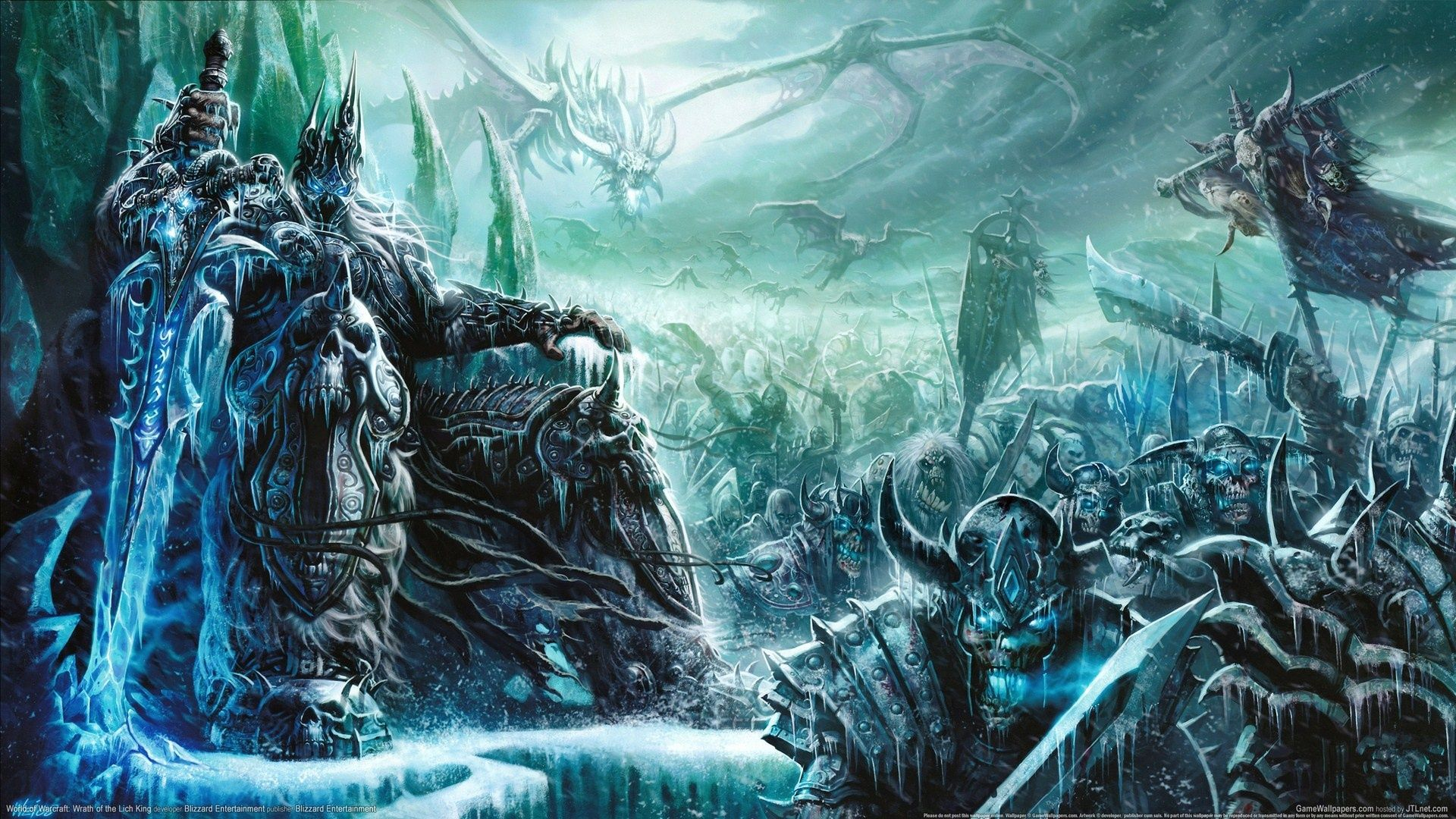 Main Spoilers] The Night King's army is ready   World of warcraft wallpaper, Lich king, World of warcraft