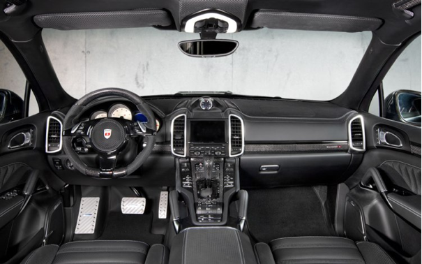 Mansory 2011 Porsche Cayenne Turbo Carbon Fiber Interior Porsche Cayenne Porsche Cayenne Turbo