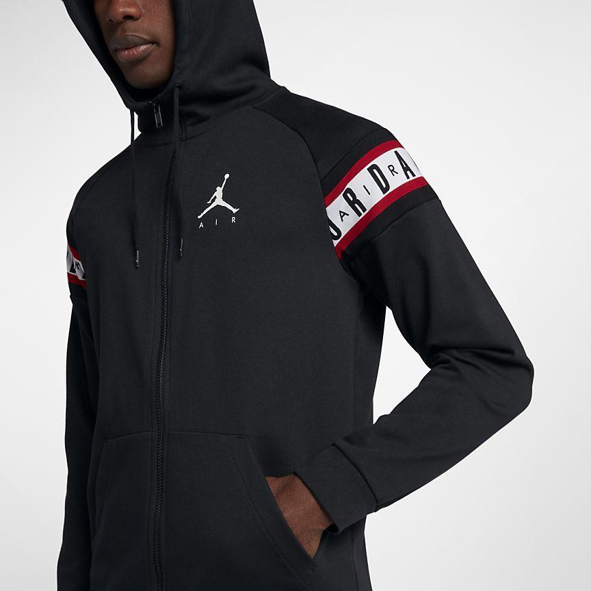 bdbd3d2cfb4 Jordan Jumpman Air Men's Full-Zip Basketball Hoodie | for him | Nike ...