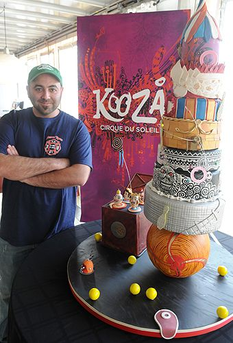 Ace Of Cakes Cirque Du Soliel Cake