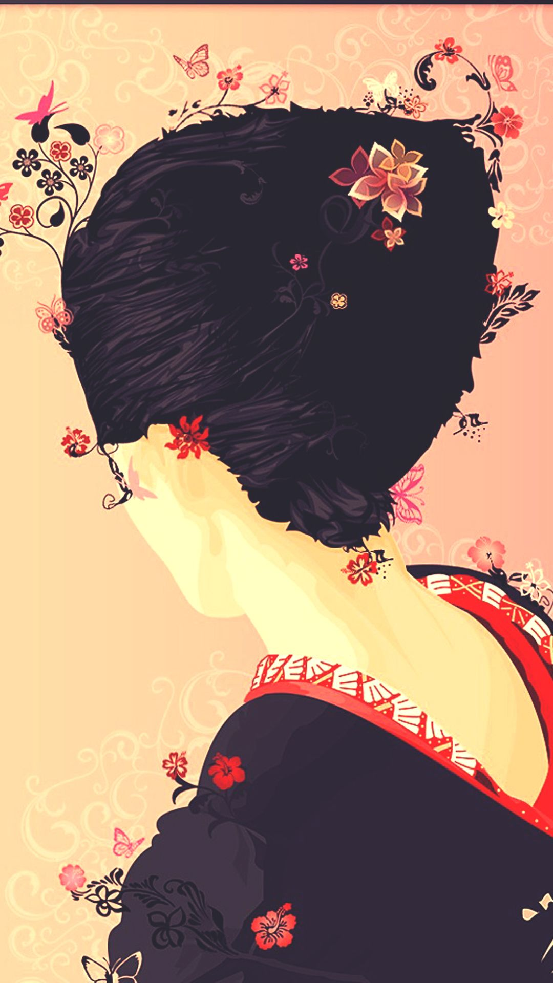 Top 9 Hipster Girl Wallpaper Full Hd For Your Android Or Iphone Wallpapers Android Iphone Wallpaper Geisha Illustration Android Wallpaper Girl Wallpaper