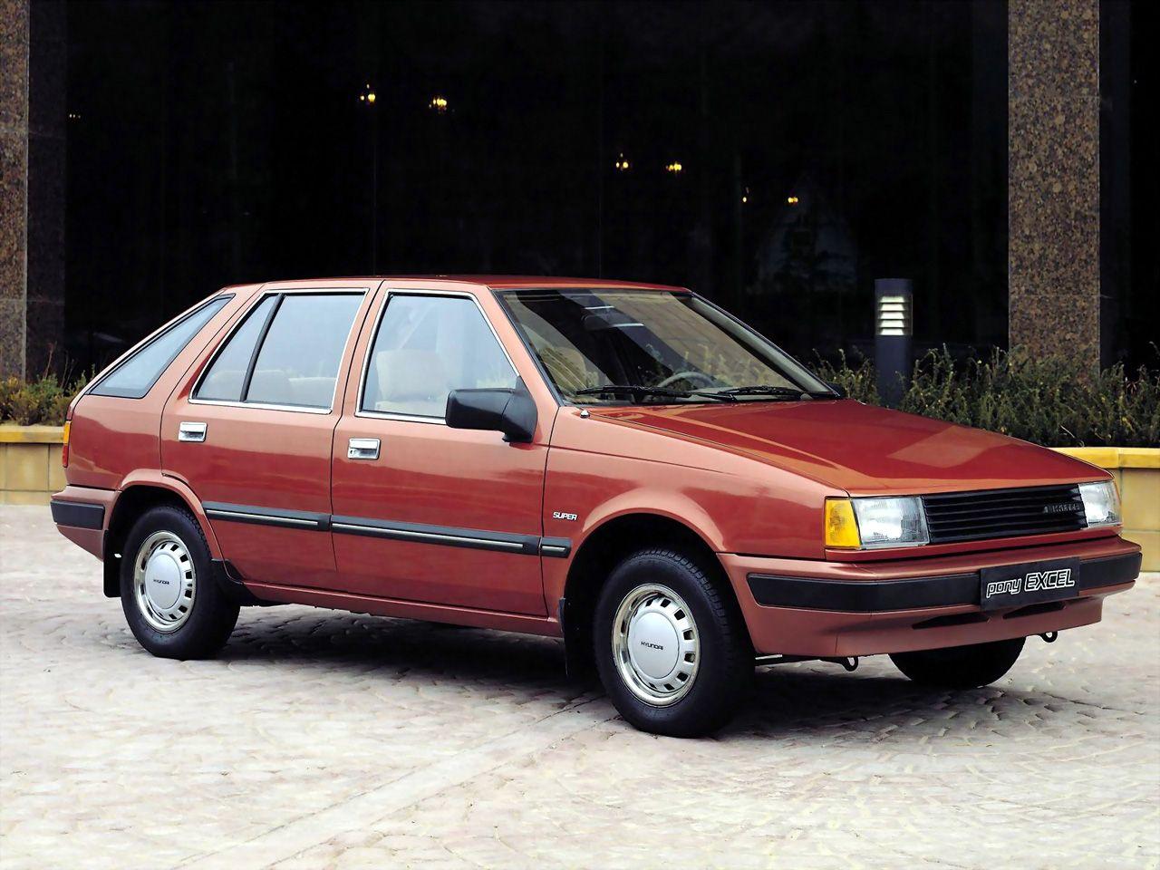1985 1989 Hyundai Pony Excel Super Classic Cars Hyundai Hyundai Cars