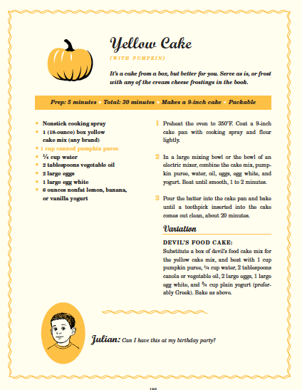 Angela Linger Wagner Yellow Cake With Pumpkin Our Blog Do It