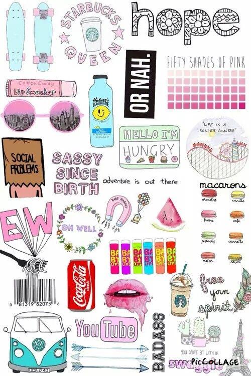 Tumblr collage \u2026 screen printing Colla\u2026