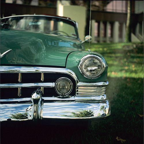 Car Green Old