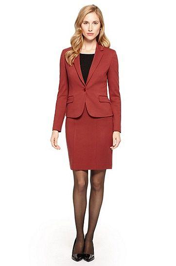 bb6452d8d Hugo Boss | Business Attire | Skirt suit, Business attire, Fashion