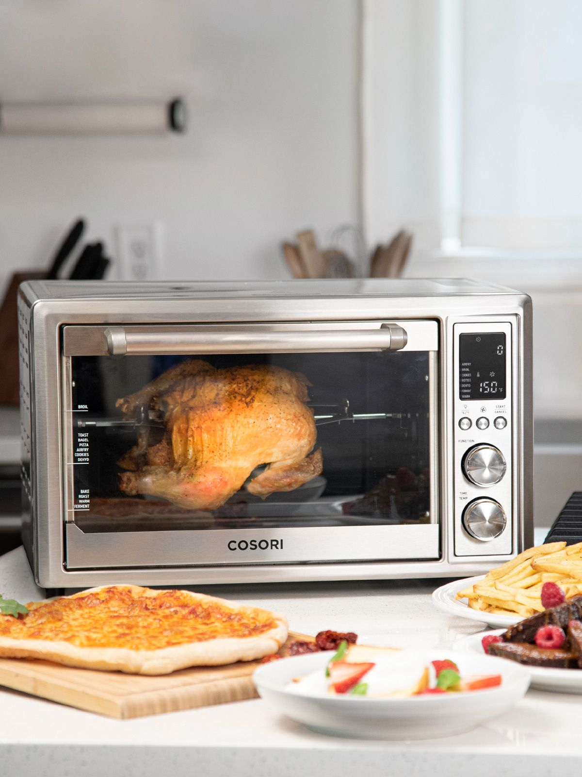 Cosori Air Fryer Toaster Oven Co130 Ao In 2020 Toaster Oven