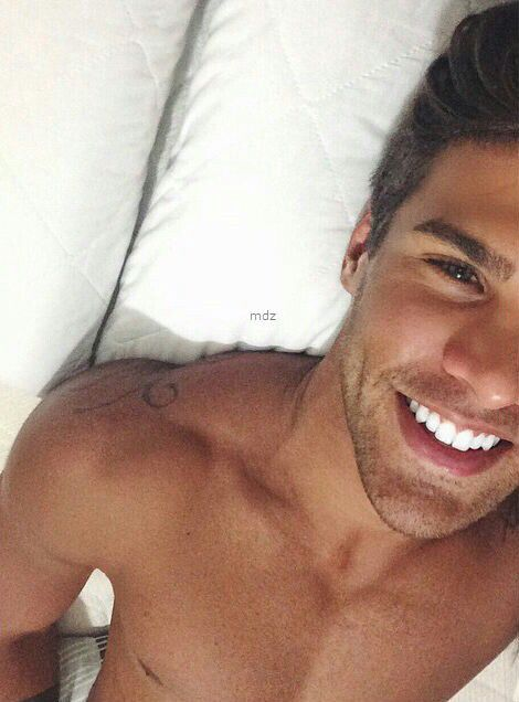 Perfect guy smile