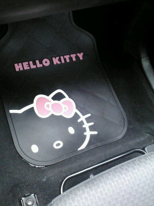 Hello Kitty Car Mats From Walmart Hello Kitty Car Hello Kitty Car Accessories Hello Kitty