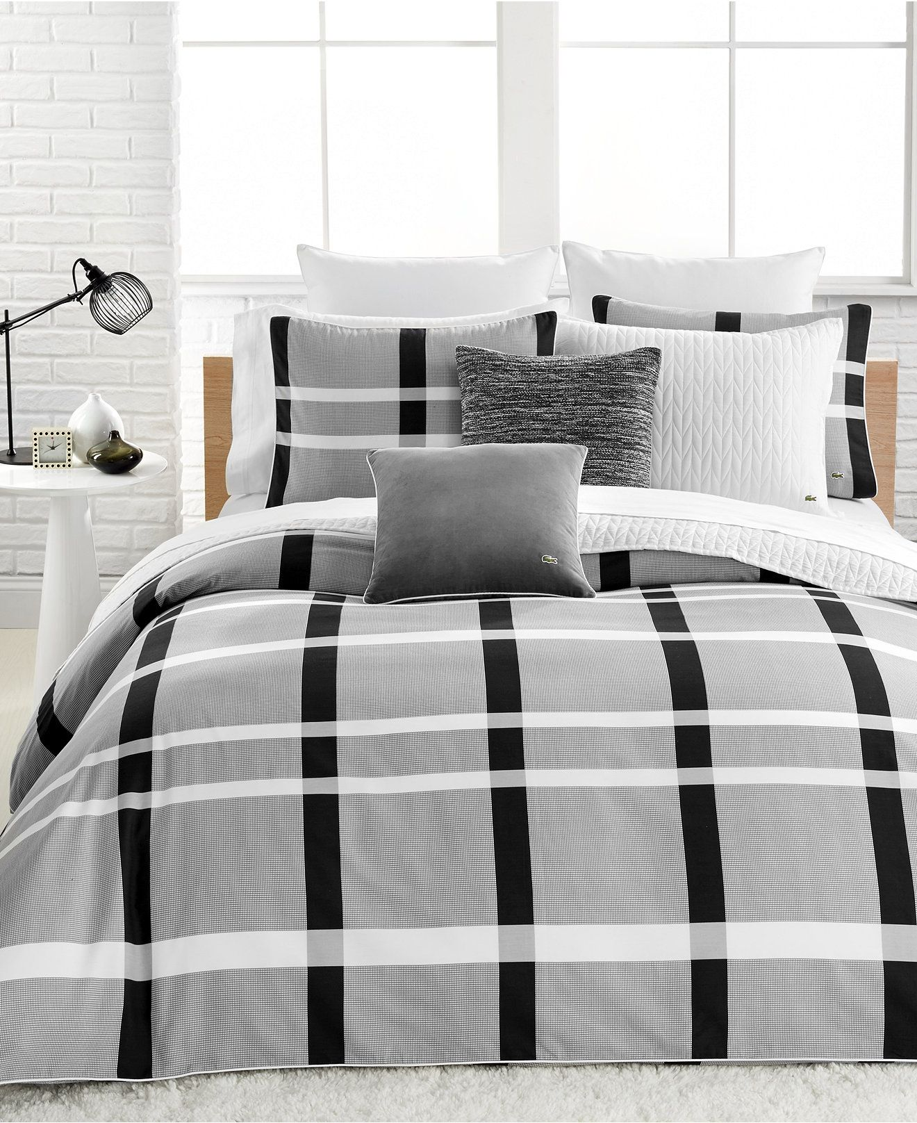Lacoste Paris Bedding Collection Cotton