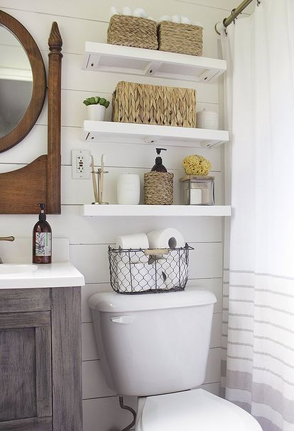 Photo On Small Master Bathroom Makeover on a Budget