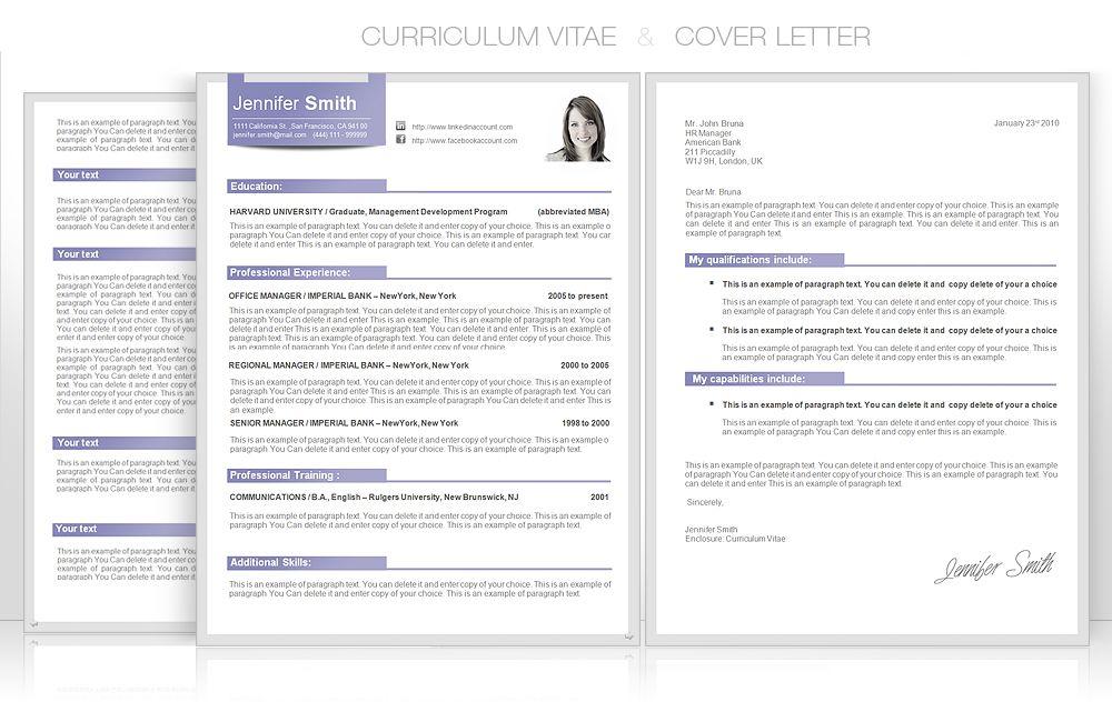 Editable graphic design CV templates by CVspecial | CV Word ...
