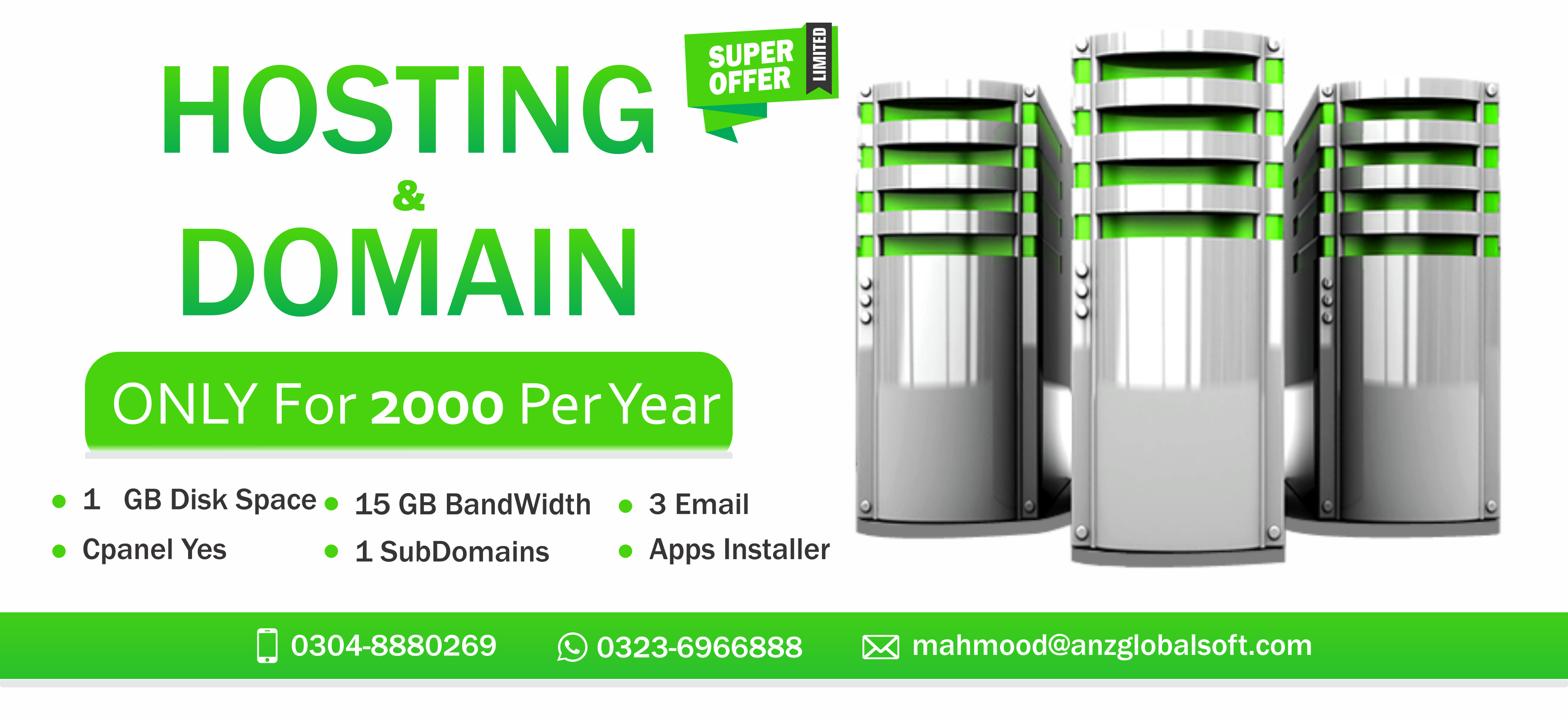 Domain & Hosting All Over In Pakistan Siteground hosting