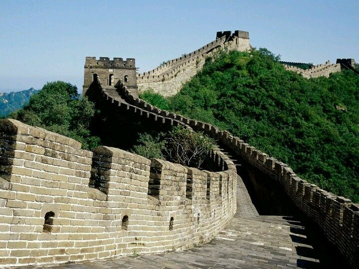 The Great Wall of China with all of its branches measures out to be 21,196 km (13,171 mi) long.