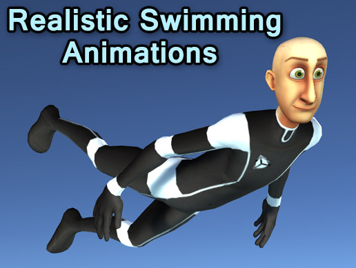 Realistic Swimming Animations 3D Animations Unity