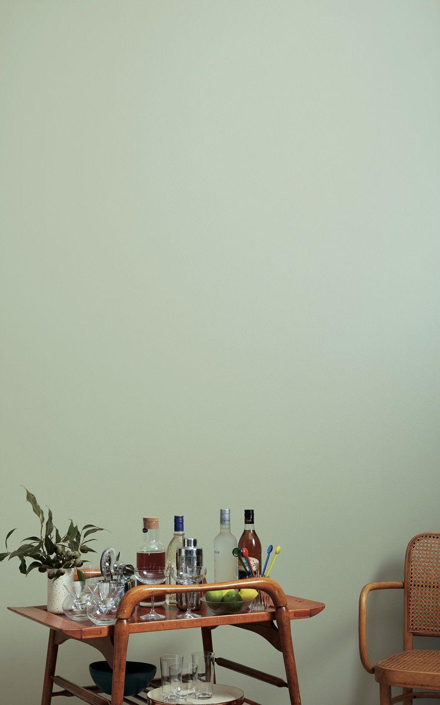 Que Te Parece Pintar La Pared Entera De Ingreso A La Habitacion Principal Con Este Verde En El D In 2020 Green Painted Walls Green Wall Paint Colors Olive Green Paints