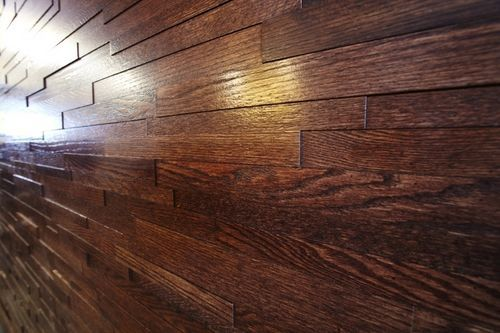 Decorative wooden wall panel AMADEUS Finium Brian\u0027s house