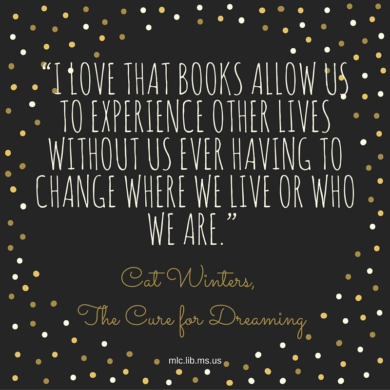 We Love Todays Quote From Cat Winters Young Adult Novel The Cure