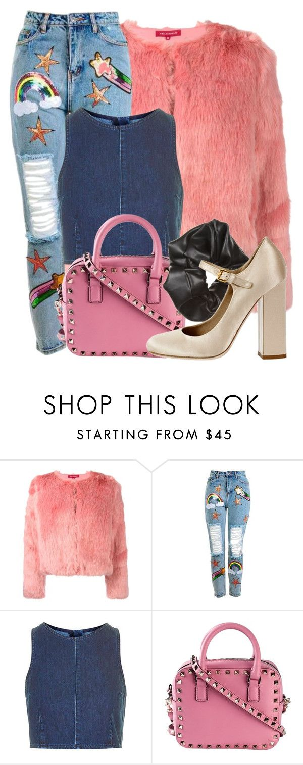 """Untitled #246"" by letshavefun123 ❤ liked on Polyvore featuring n:PHILANTHROPY, Topshop, Valentino and Miu Miu"