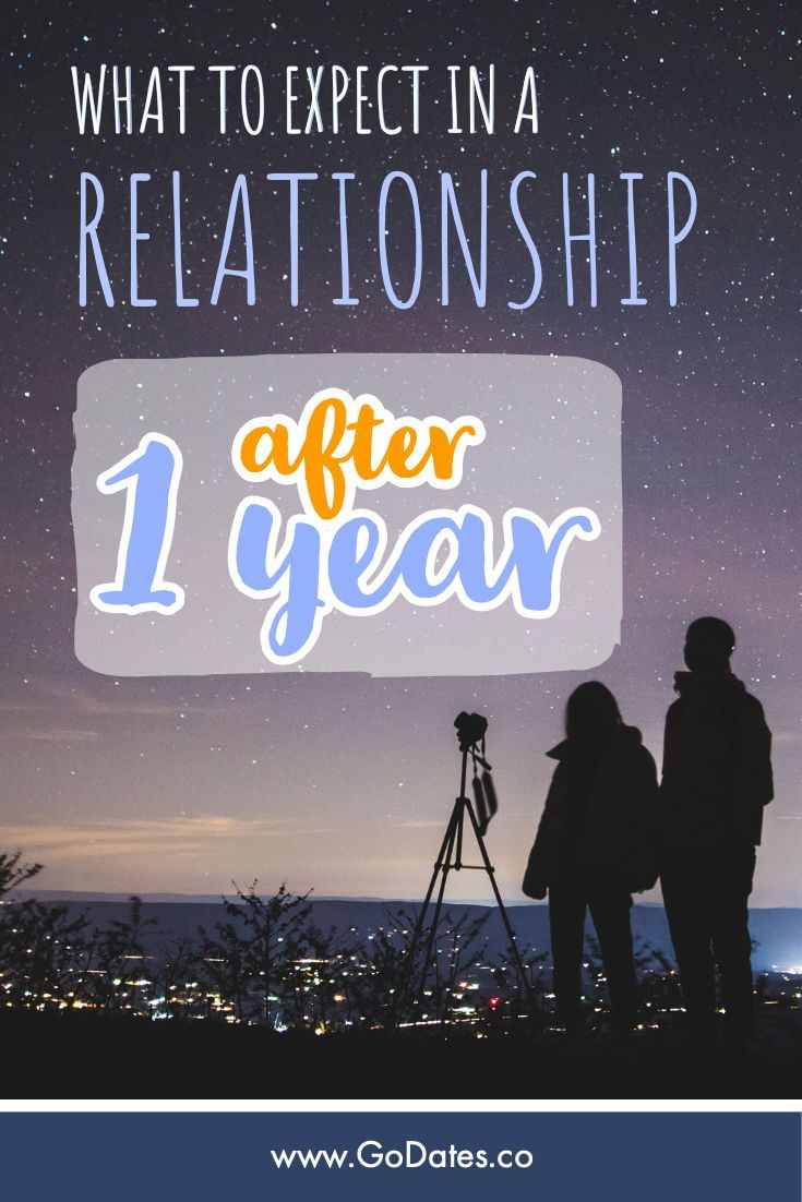 what to expect after a year in a relationship