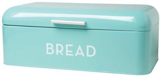 Turquoise Bread Box $4097  Now Designs Bread Bin Turquoise Blue Bread Bin Measures 16