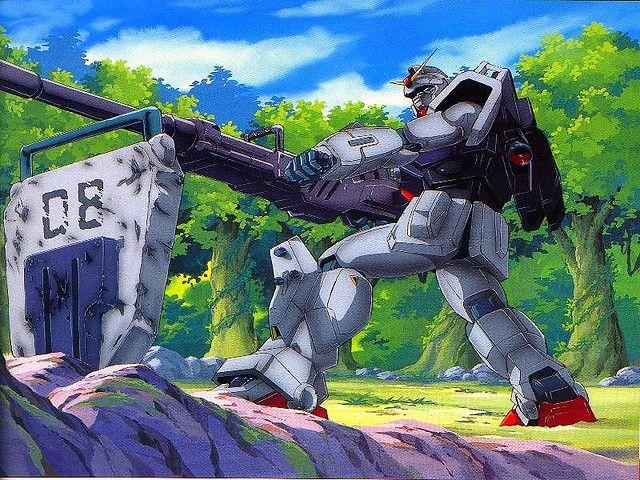 Mobile Suit Gundam The 08th Ms Team 3 By Antsizedman Via Flickr Gundam Art Gundam Wallpapers Gundam Artworks