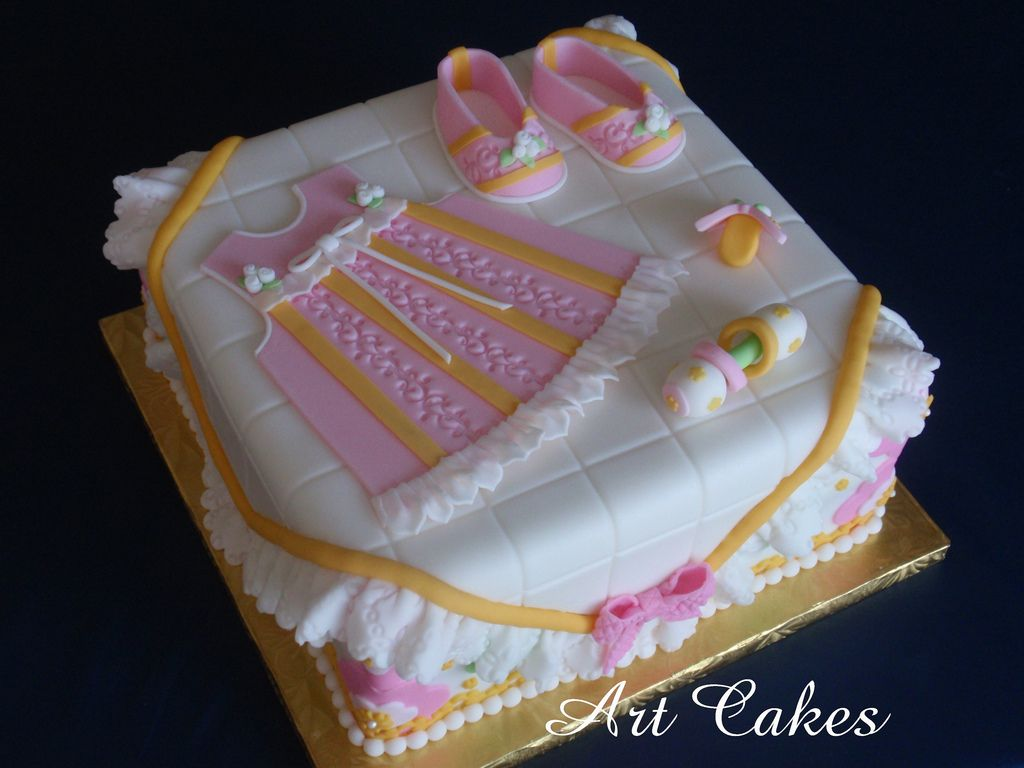 Baby Shower Cake in Pink | por Art Cakes