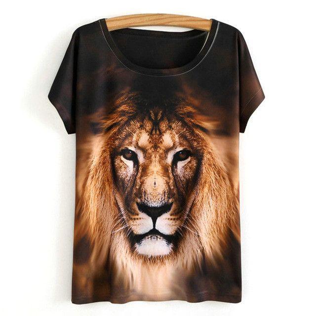 2017 Fashion Summer T-Shirt For Women