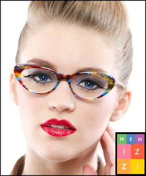 Get petite glasses for small faces at Smith s. Colorful glasses by Menizzi  Italy  2458eaebc