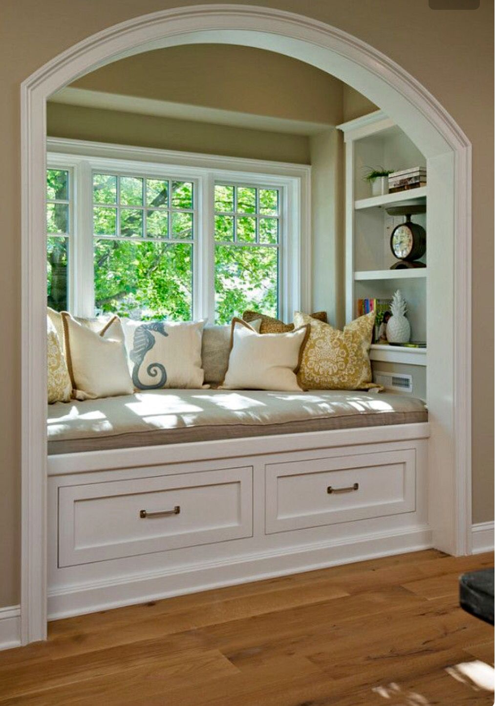I\'ve always wanted a window sill so I can sit & read a book with ...