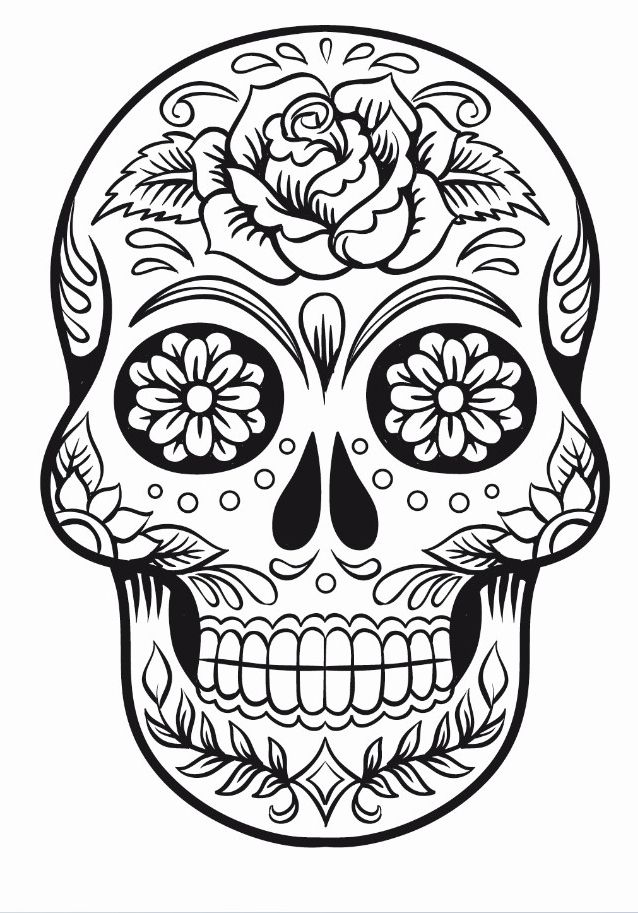 pin by onyx design studio on sugar skulls skull coloring  pin by onyx design studio on sugar skulls skull coloring pages coloring pages sugar skull