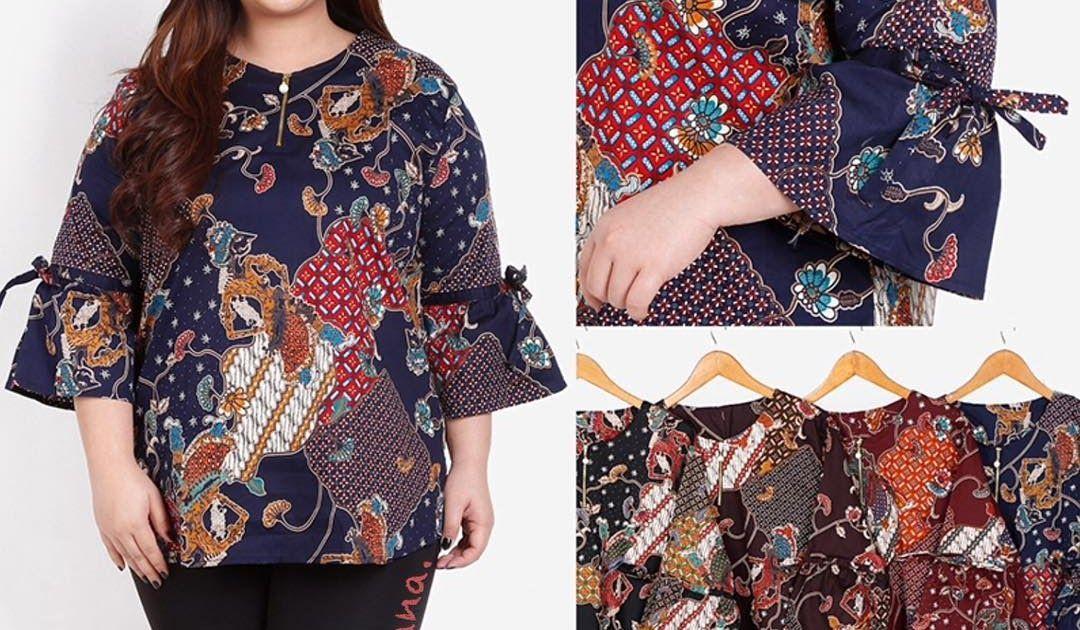 Ide Populer 38+ Model Baju Batik 2021 Wanita Gemuk ...