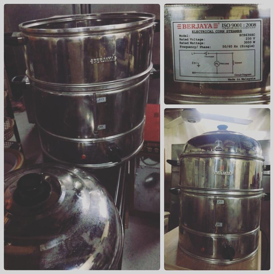 For Sale Electrical Corn Steamer. brand Berjaya. Made in