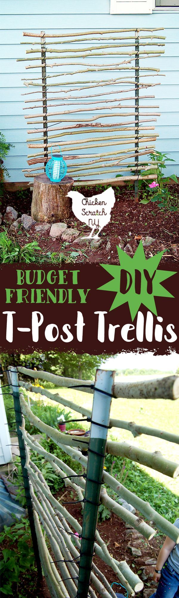 Cheap Diy Garden Trellis Garden Trellis Diy Garden 640 x 480