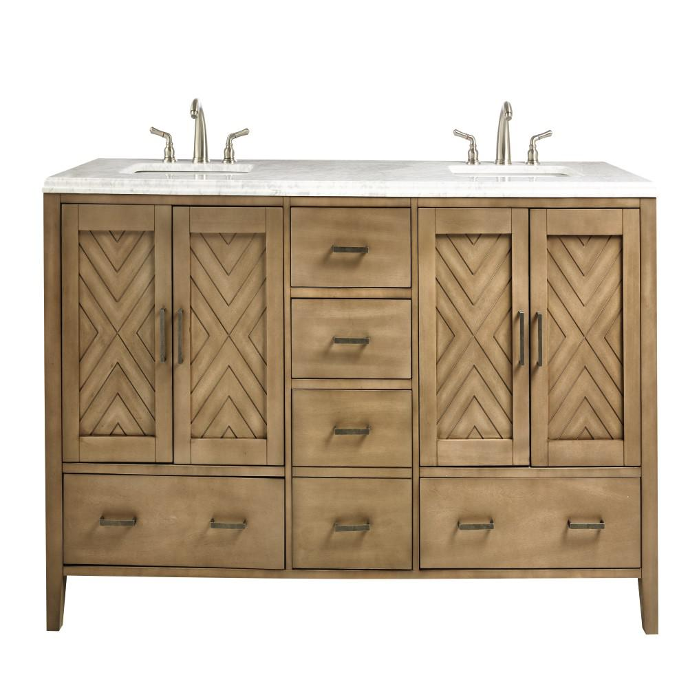 Home Decorators Collection Sedona 72 In W Double Vanity In Fawn