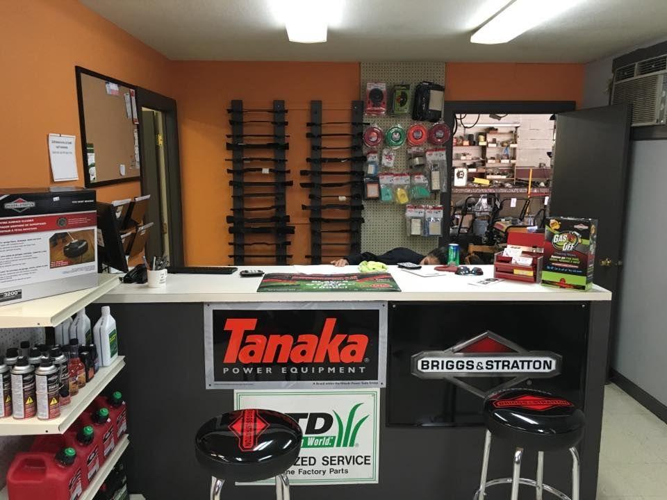 Equipment repair we repair all makes and models of lawn